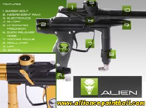 Alien Independance black/gold