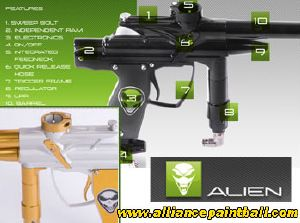 Alien Independance white gold