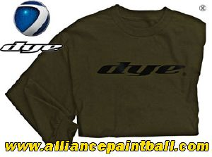 Tee-shirt Dye manches longues Entrepreneur Military Green taille M