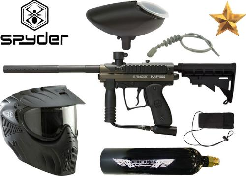 Pack Spyder MR100 Pro black Co2