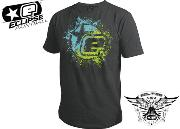 Tee-shirt Planet Eclipse Fusion charcoal