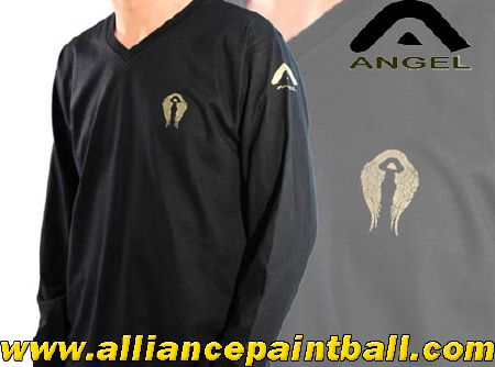 Tee-shirt Angel black long sleeves taille XXL