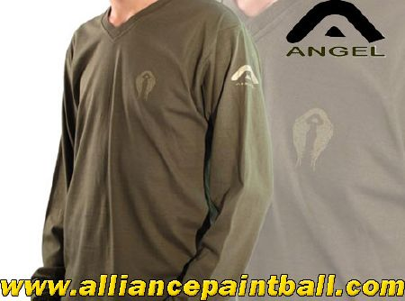 Tee-shirt Angel olive long sleeves taille S/M