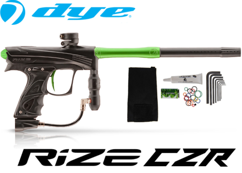 Dye Rize CZR - black lime