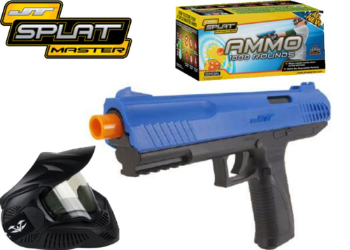 Package JT Splatmaster Z100 Pistol blue