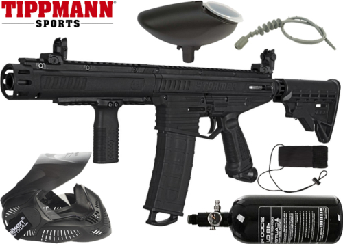 Pack Tippmann Stormer Dual Feed Elite air comprimé