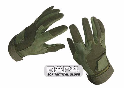 "Gants tactical Rap4 ""Soldier of Fortune"" olive - L"
