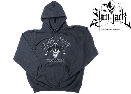 Sweat-shirt Slam Jack dark side grey