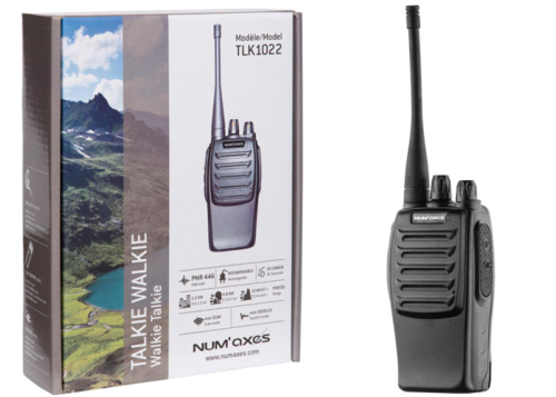 Talkie Walkie Num'Axes TLK 1022 + oreillette