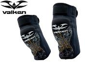 Valken Knee Pads gold skulls - XL