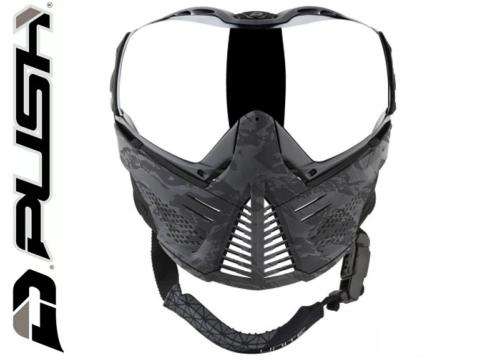 Masque Paintball Push Unite - grey camo