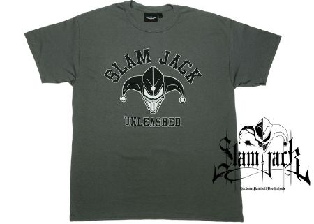 Tee-shirt Slam Jack Unleshead grey - S