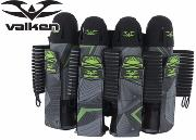 Harnais Valken Redemption Vexagon 4+7 - Neon green / grey