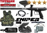 Battle Pack Tippmann Gryphon Sniper black air comprimé