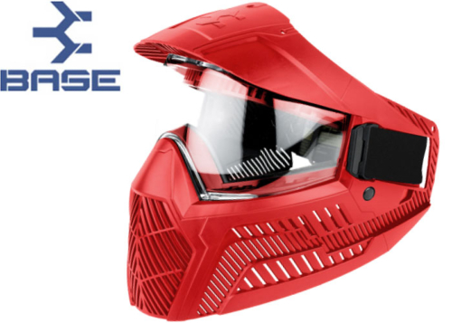 Masque Paintball Base GS-F-CC thermal red