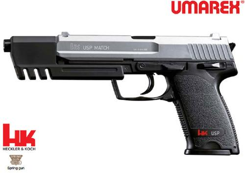 Réplique Airsoft HK USP Match bicolor Spring