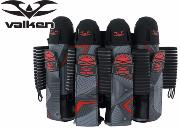 Harnais Valken Redemption Vexagon 4+7 - Red grey