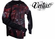 Virtue Elite Pro Jersey red/white - Extra-Large