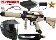 Pack Tippmann Cronus Tactical black/tan Co2