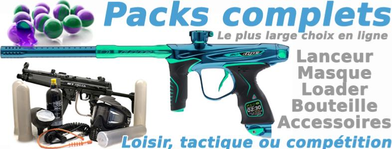 Packs paintball complets
