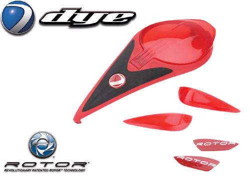 Color kit Rotor red
