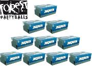 Lot de 10 cartons de 2000 billes Forest Aqua