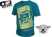 Tee-shirt Planet Eclipse Spiro teal