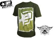 Tee-shirt Planet Eclipse Radical olive