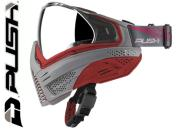 Masque Paintball Push Unite - grey red