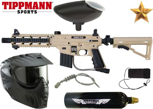 Pack Tippmann US Army Sierra One tan Co2