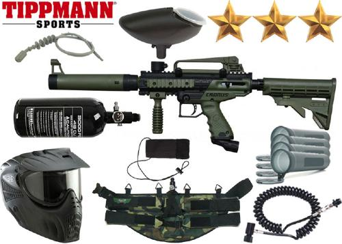 Ranger Pack Tippmann Cronus Tactical black/olive air comprimé
