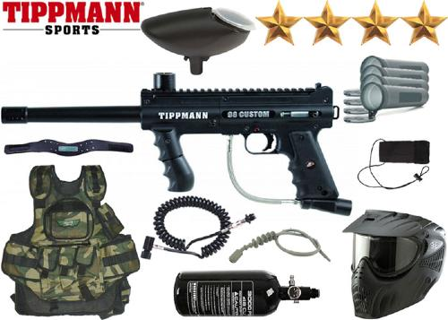 Battle Pack Tippmann 98 Platinium Series air comprimé