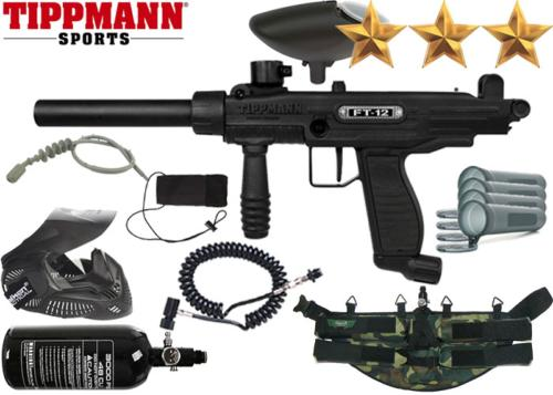 Ranger Pack Tippmann FT-12 black air comprimé