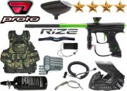 Battle Pack Proto Rize Maxxed black lime air comprimé