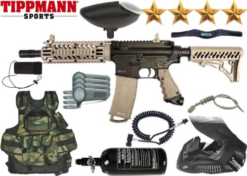 Battle Pack Tippmann TMC black tan air comprimé