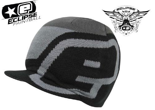 Planet Eclipse beanie Staple visor black/grey