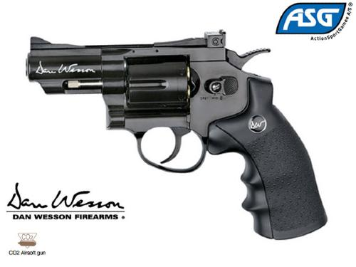 "Réplique Airsoft Dan Wesson 2.5"" black Co2"