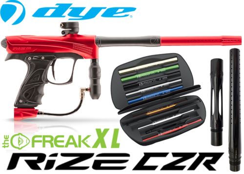 Dye Rize CZR Total Freak XL - red black