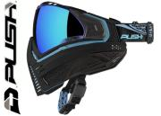 Masque Paintball Push Unite - black blue