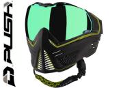 Masque Paintball Push Unite - black lime