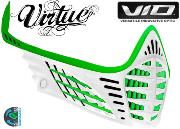 Facemask Virtue Vio - lime / lime / white