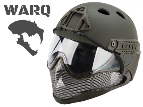 Casque Airsoft WARQ First olive