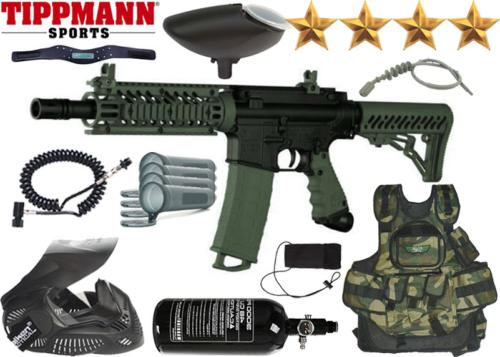 Battle Pack Tippmann TMC black olive air comprimé