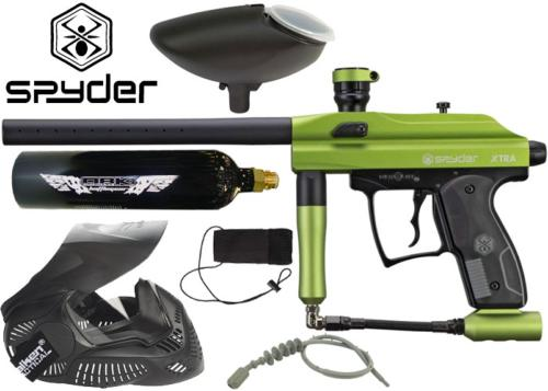 Pack Spyder Xtra matte lime Co2