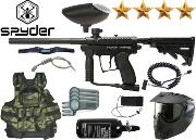 Battle Pack Spyder MR100 black air comprimé + 500 billes offertes