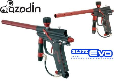 Azodin Blitz Evo black red