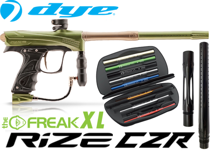 Dye Rize CZR Total Freak XL - olive tan