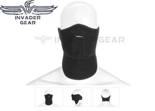 Neoprene Face Protector Invader Gear - black