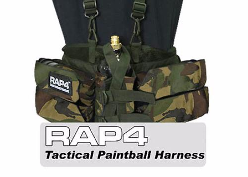 Backpack 4+1 Rap4 avec bretelles de suspension Woodland