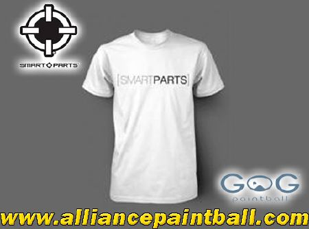 Tee-shirt Smart Parts Classic white